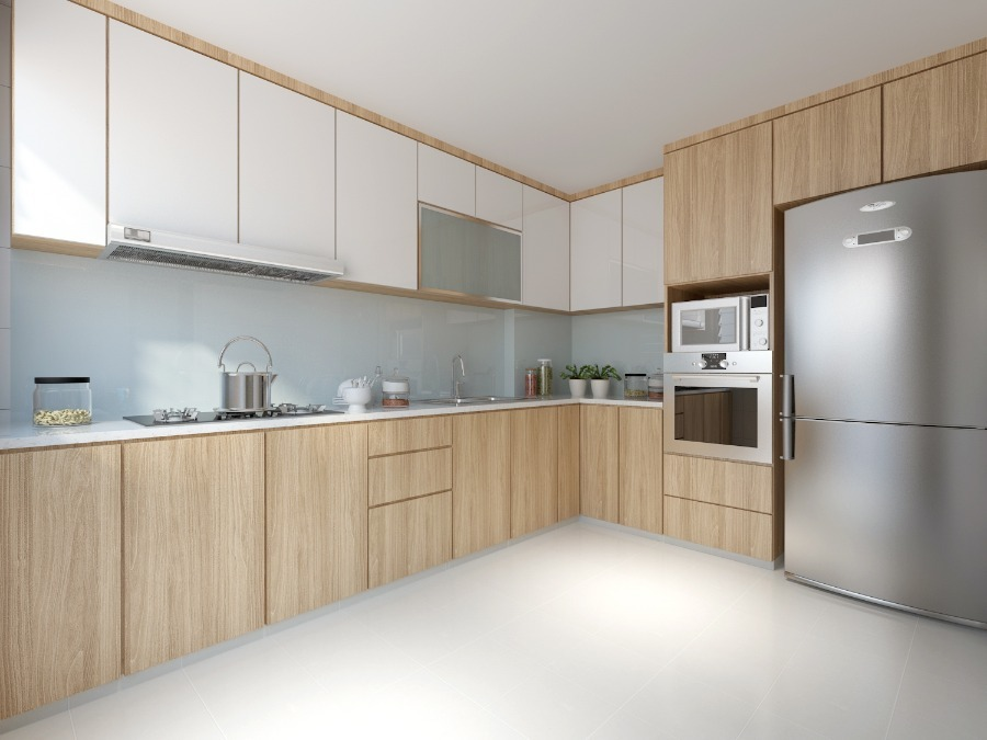 Kitchen cabinets package in Singapore